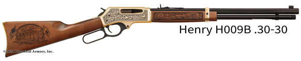 Pendleton County West Virginia Engraved Henry .30-30 Rifle