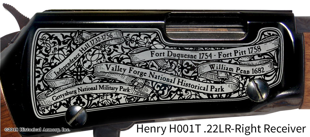 Pennsylvania State Pride Engraved Rifle – Historical Armory