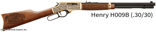 Platte County Wyoming Engraved Rifle