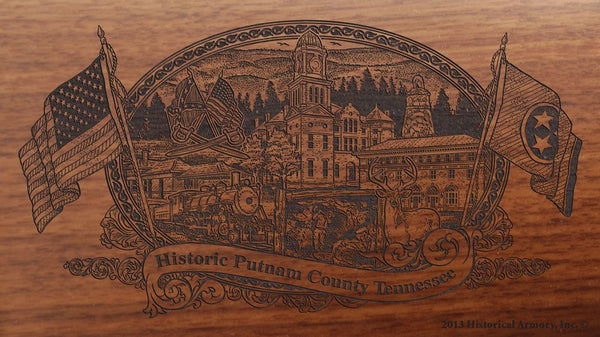 putnam county tennessee engraved rifle buttstock