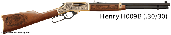 Quay County New Mexico Engraved Rifle