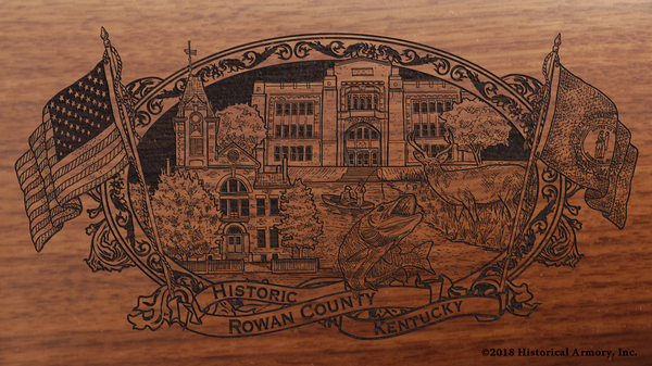 Rowan County Kentucky Engraved Rifle
