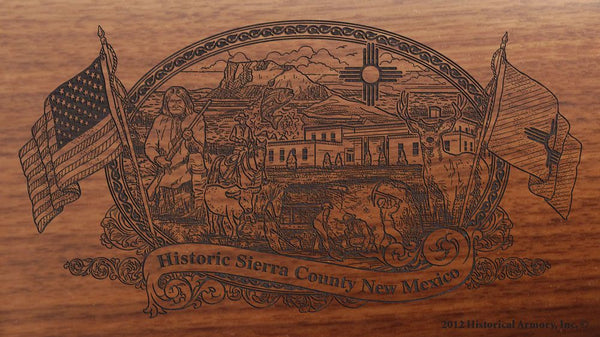 sierra county new mexico engraved rifle buttstock