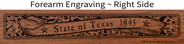 Texas State Pride Engraved Rifle