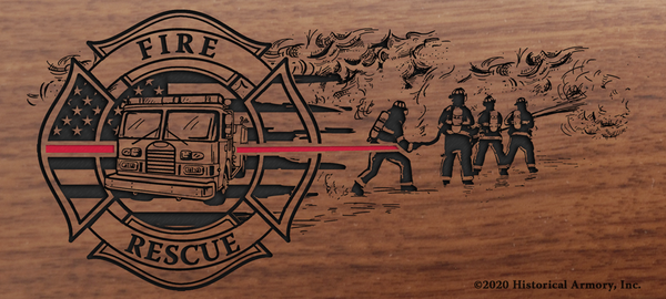 Thin Red Line Firefighter Limited Edition