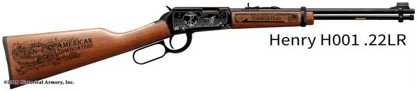 American Towboaters Limited Edition Engraved Rifle