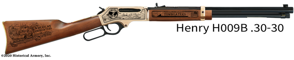 Towboater Engraved Rifle
