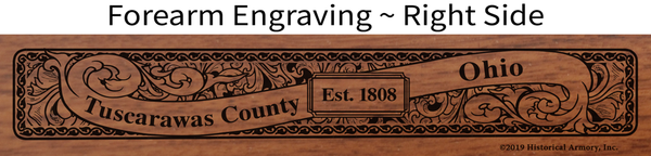 Tuscarawas County Ohio Engrave Rifle