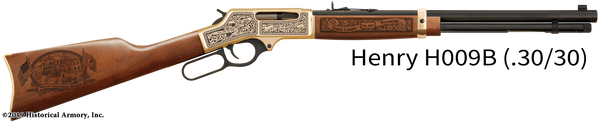 Uinta County Wyoming Engraved Rifle