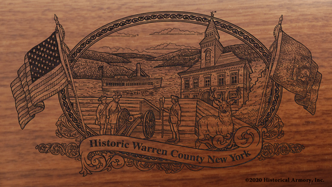 Warren County New York Engraved Rifle