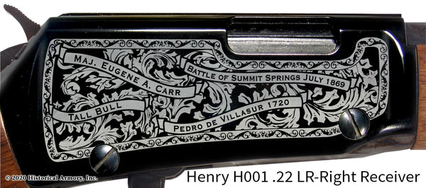 Washington County Colorado Engraved Henry H001 Rifle