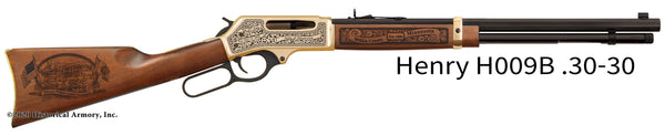 Wilkin County Minnesota Engraved Henry .30-30 Rifle