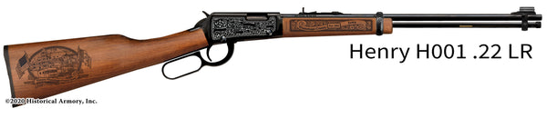 Winnebago County Iowa Engraved Henry H001 Rifle