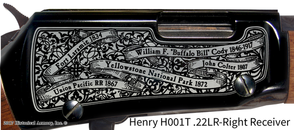 Wyoming State Pride Engraved Rifle