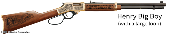 Wyatt Earp Limited Edition Engraved Rifle
