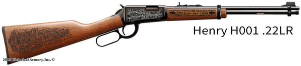 Wyoming State Oil & Gas Limited Edition Engraved Rifle
