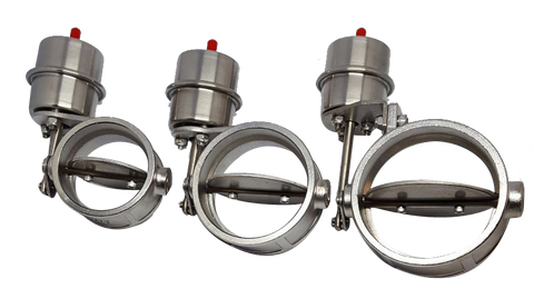 Vacuum Activated Loudvalves