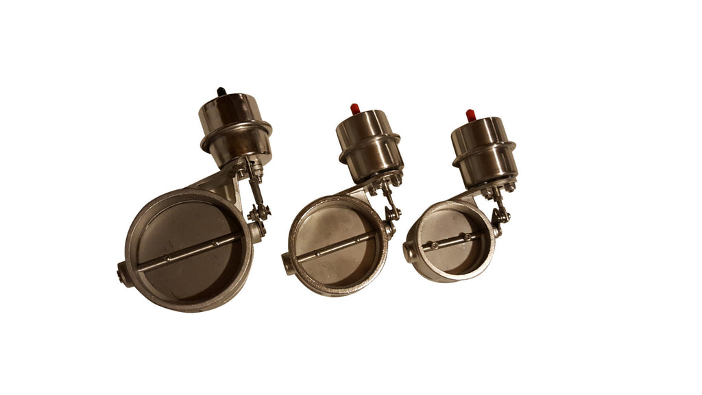 Boost Activated Loudvalves