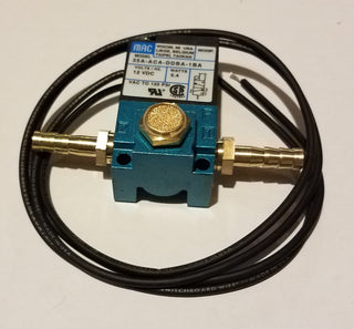 3-port Solenoid with Barbs and filter