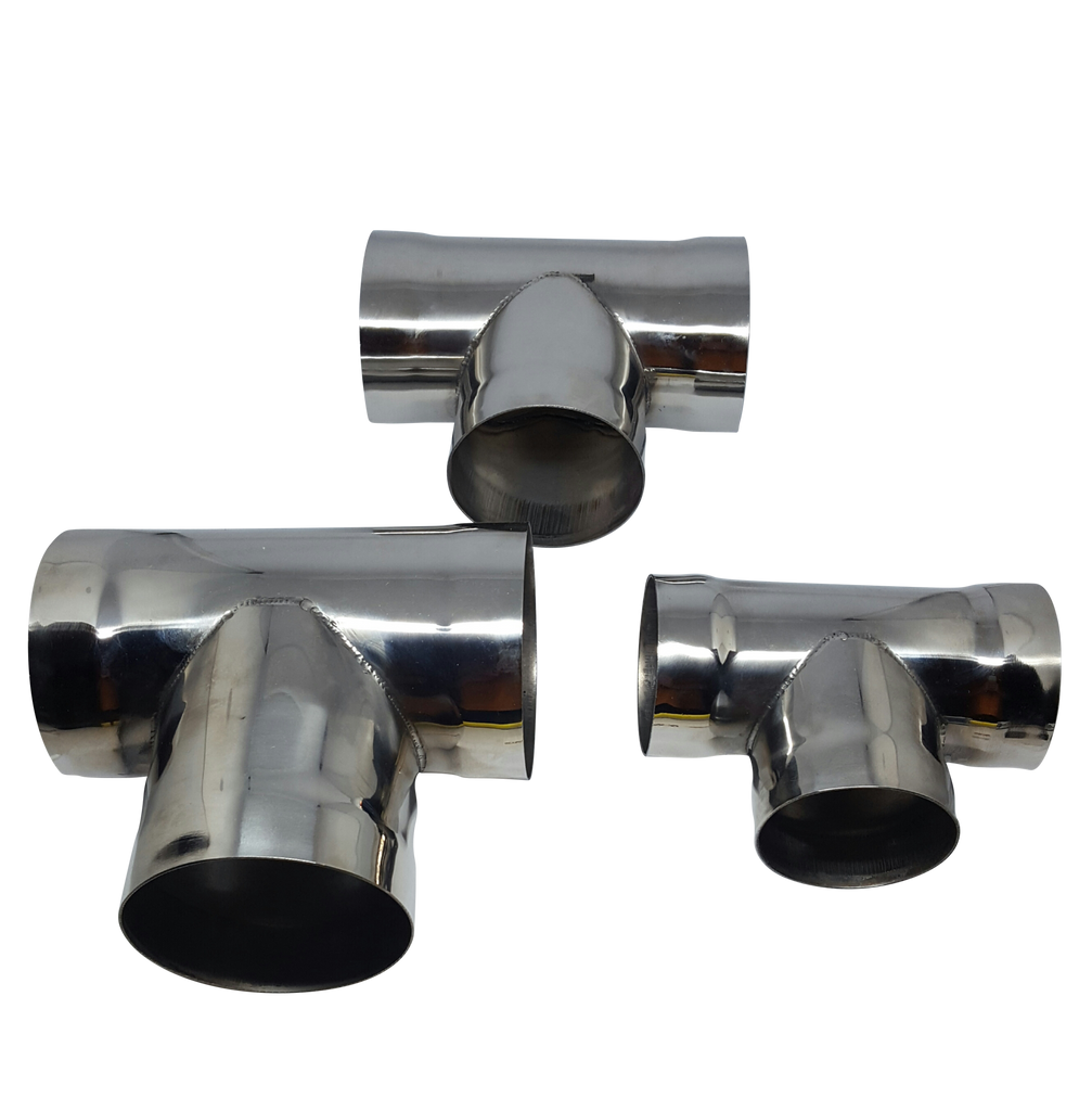 Stainless T-pipes