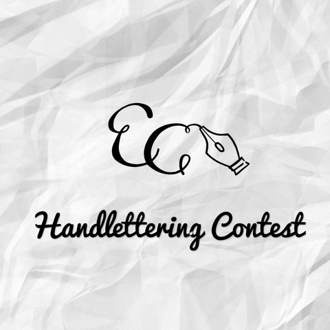 Join Our Handlettering Contest!