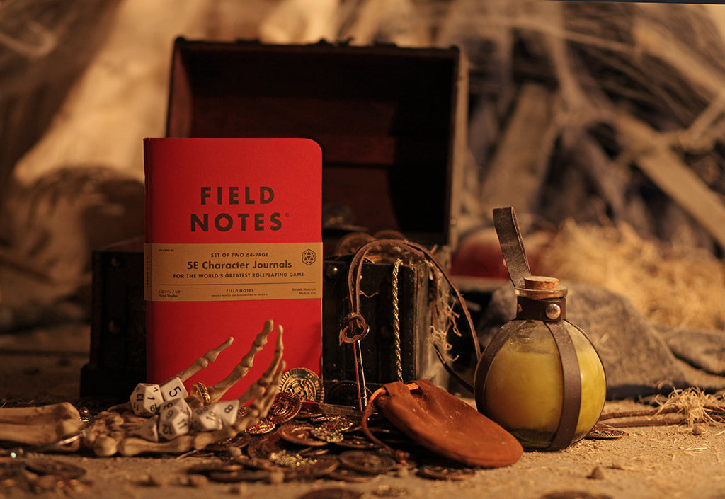 Field Notes 5E Gaming Character Journal