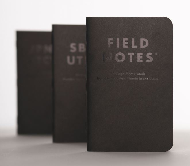 Field Notes Clandestine (Set of Three)