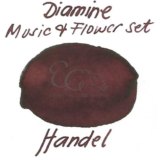 Diamine Music and Flower Set