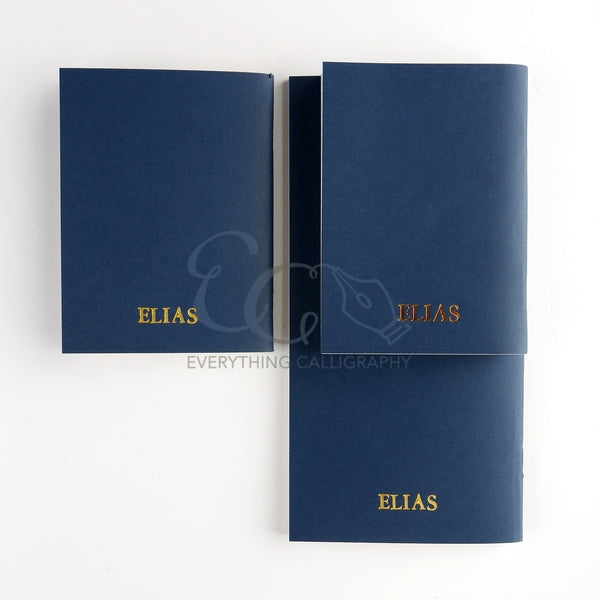 Elias Notebooks Inserts [BLANK]
