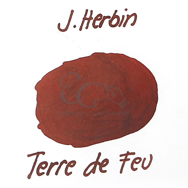 J. Herbin Tin of 6 Ink Cartridges