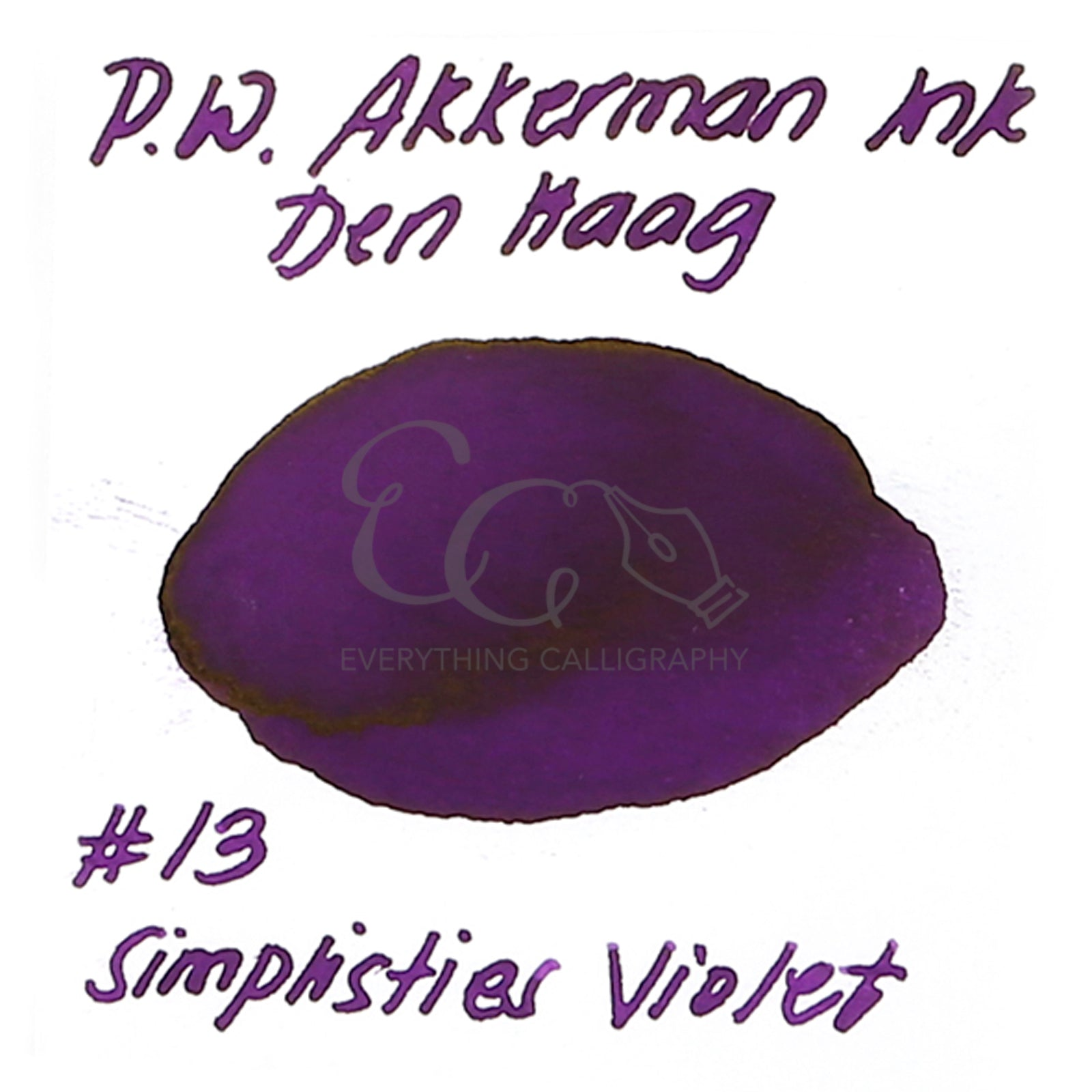 PW Akkerman Inks Sample Vials [3ml]