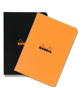 Rhodia Classic Stapled Notebook A4 (Large Size)