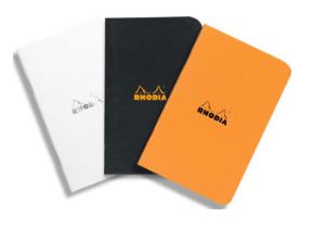 Rhodia Classic Stapled Notebook (A7 Pocket Size)