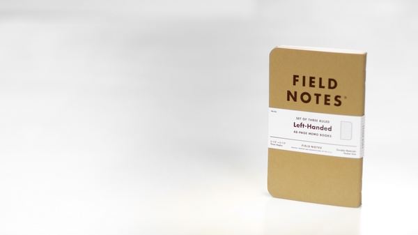 Field Notes Left-handed (Set of Three)