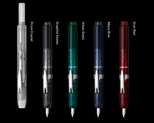 Platinum Curidas Retractable Fountain Pen