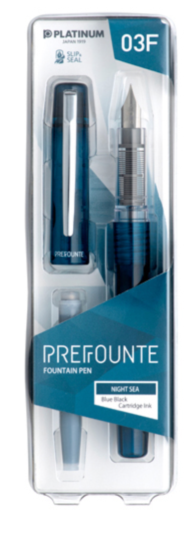 Platinum Prefounte Fountain Pen