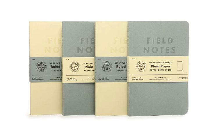 Field Notes Signature (Set of Two)