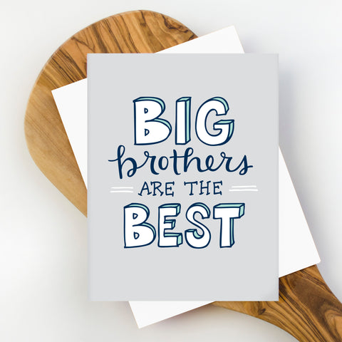 Big Brothers Greeting Card