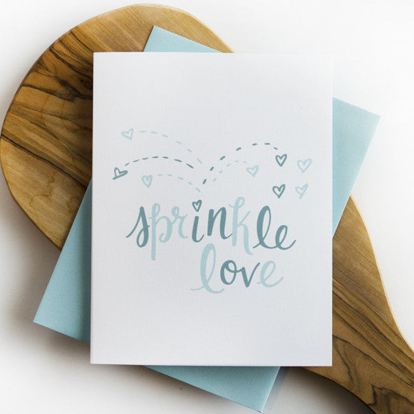 Sprinkle Love Greeting Card
