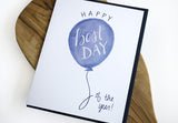 Best Day Blue Greeting Card