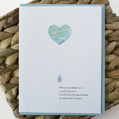 Million Pieces Sympathy Card