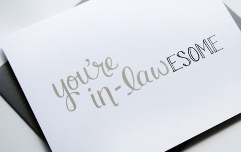 You're In-lawESOME Card
