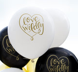 Love Wildly Balloon (white, two-pack)