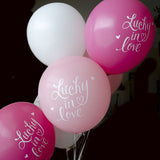 Lucky In Love Balloon (light pink, two-pack)