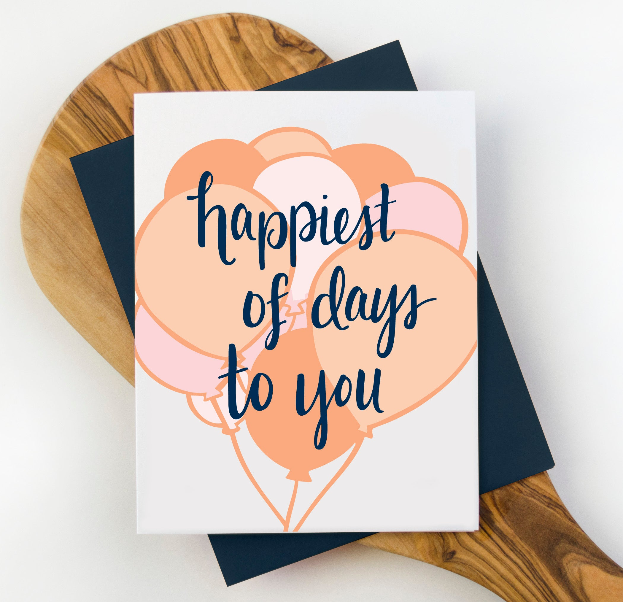 Happiest of Days Birthday Card