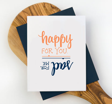 Happy For You Greeting Card