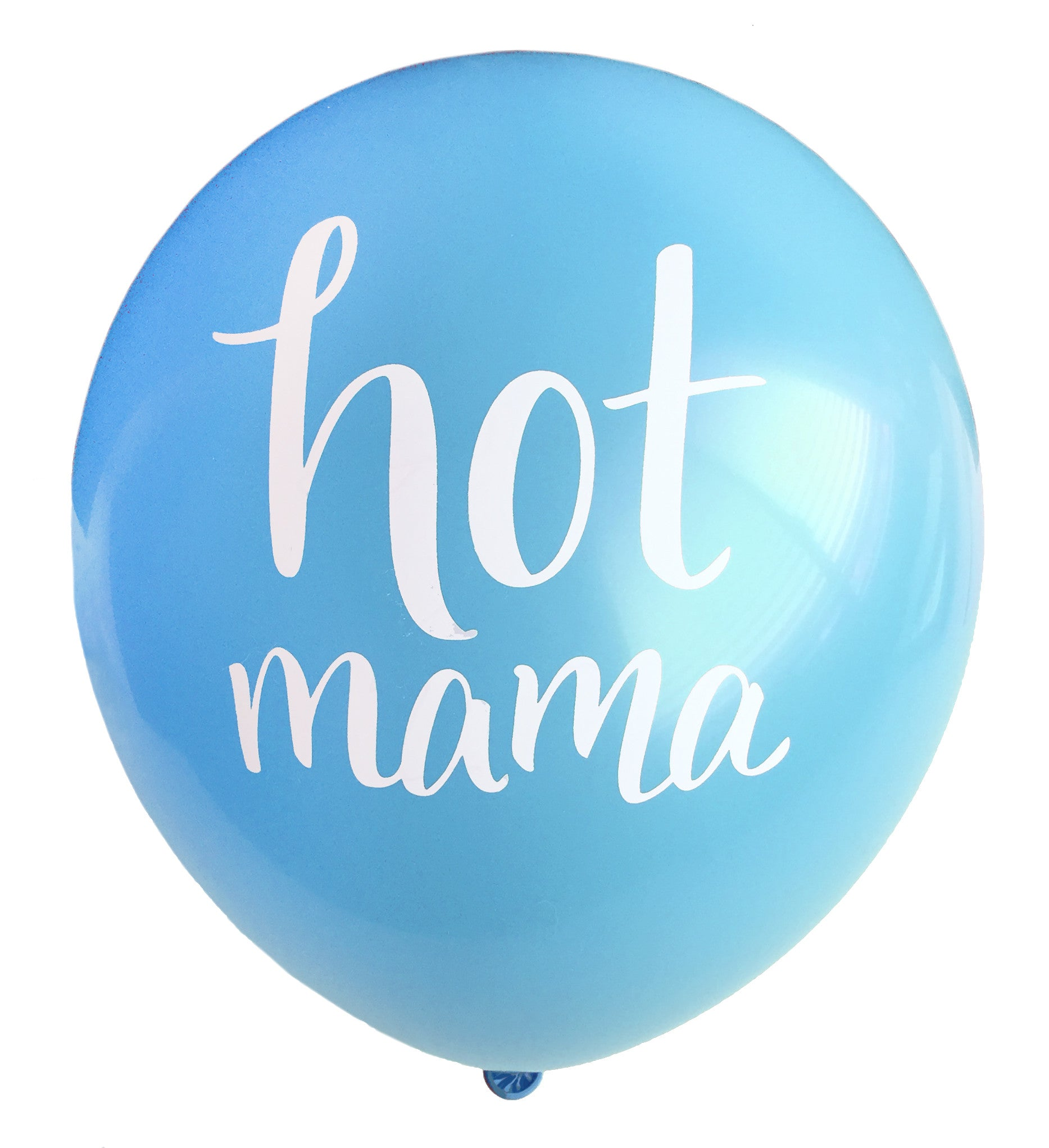 Hot Mama Balloon (blue, two-pack)
