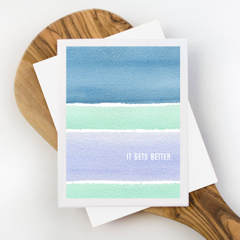 It Gets Better Sympathy Card
