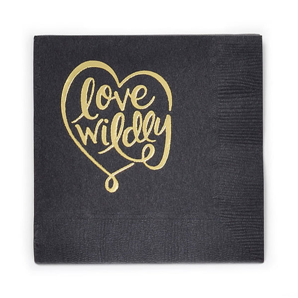 Love Wildly Napkins
