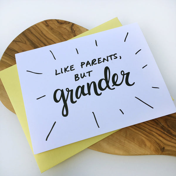 Grander Grandparents Day Card